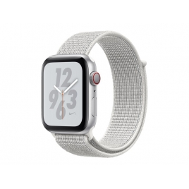 Apple Watch Nike+ Serie 4 GPS + 4G 40MM Silver Aluminium + Correa Nike Sport Loop Summit White