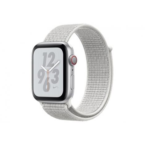 Apple Watch Nike+ Serie 4 GPS + 4G 40MM Silver Aluminium + Correa Nike Sport Loop Summit White