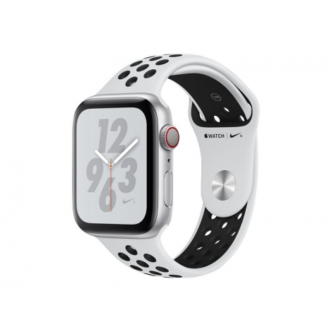 Apple Watch Nike+ Serie 4 GPS + 4G 40MM Silver Aluminium + Correa Nike Sport Pure Platinum/Black