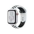 Apple Watch Nike+ Serie 4 GPS + 4G 40MM Silver Aluminium + Correa Nike Sport Pure Platinum/Black