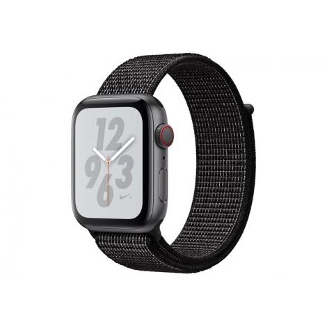 Apple Watch Nike+ Serie 4 GPS + 4G 40MM Space Grey Aluminium + Correa Nike Sport Loop Black
