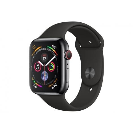 Apple Watch Serie 4 GPS + 4G 40MM Space Grey Stainless Steel + Correa Sport Black
