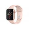 Apple Watch Serie 5 GPS + 4G 40MM Gold Aluminium + Correa Sport Pink Sand