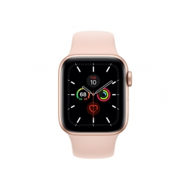Apple Watch Serie 5 GPS + 4G 40MM Gold Aluminium + Correa Sport Pink Sand