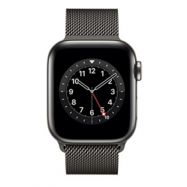 Apple Watch Serie 6 GPS + 4G 40MM Graphite Stainless Steel + Correa Milanese Loop Graphite