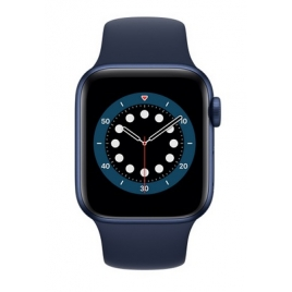 Apple Watch Serie 6 GPS + 4G 44MM Blue Aluminium + Correa Sport Deep Navy
