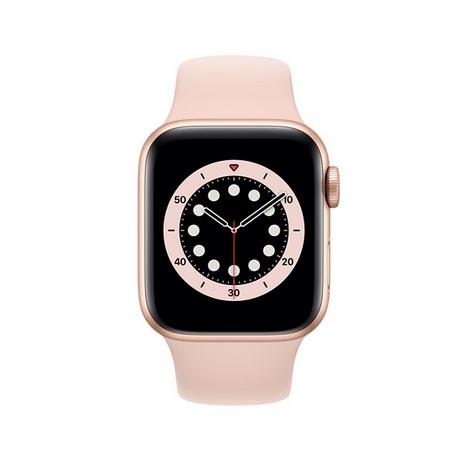 Apple Watch Serie 6 GPS + 4G 44MM Gold Aluminium + Correa Sport Pink Sand