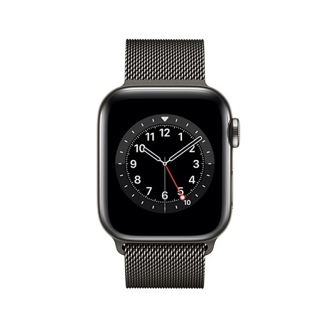 Apple Watch Serie 6 GPS + 4G 44MM Graphite Stainless Steel + Correa Milanese Loop Graphite