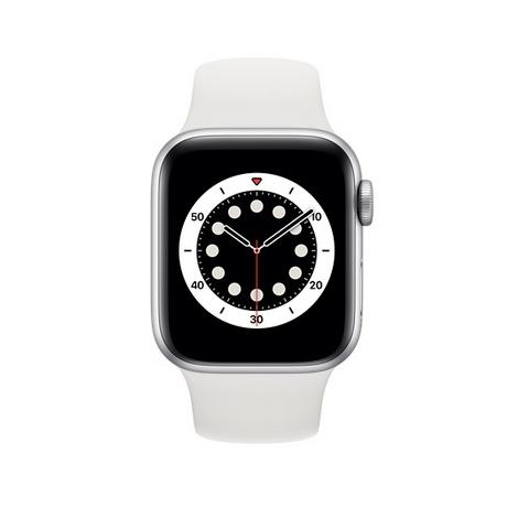Apple Watch Serie 6 GPS 40MM Silver Aluminium + Correa Sport White