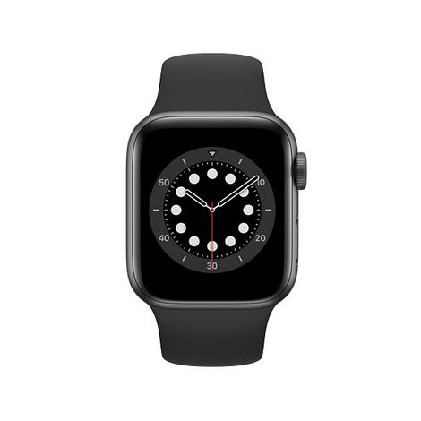 Apple Watch Serie 6 GPS 40MM Space Gray Aluminium + Correa Sport Black