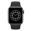 Apple Watch Serie 6 GPS 40MM Space Gray Aluminium + Correa Sport Black