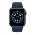 Apple Watch Serie 6 GPS 44MM Blue Aluminium + Correa Sport Deep Navy
