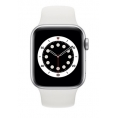 Apple Watch Serie 6 GPS 44MM Silver Aluminium + Correa Sport White