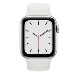Apple Watch Serie se GPS + 4G 44MM Silver Aluminium + Correa Sport White