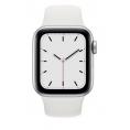 Apple Watch Serie se GPS + 4G 44MM Silver Aluminium + Correa Sport White