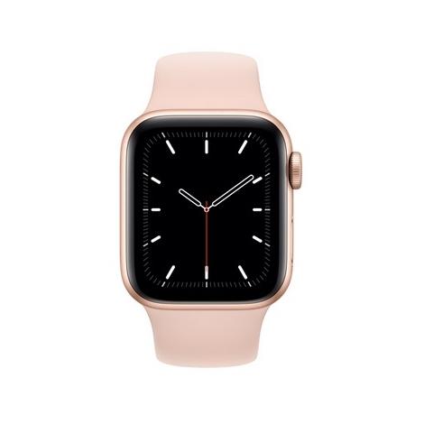 Apple Watch Serie se GPS 44MM Gold Aluminium + Correa Sport Pink Sand