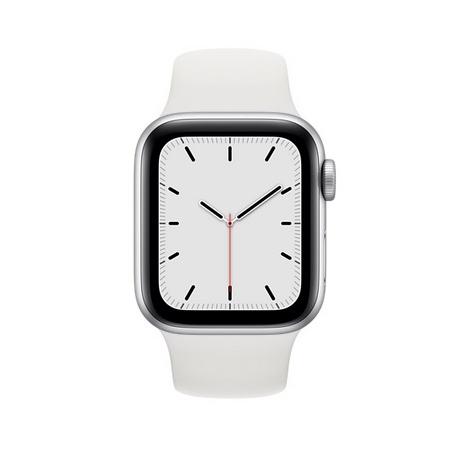 Apple Watch Serie se GPS 44MM Silver Aluminium + Correa Sport White