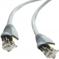 Cable Kablex red RJ45 CAT 6 4M Grey