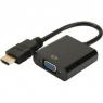 Conversor Digitus HDMI a VGA 1920X1080 con Audio