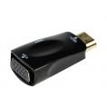 Conversor Kablex Compacto HDMI a VGA con Audio