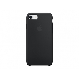 Funda iPhone 8 / 7 Apple Silicone Case Black