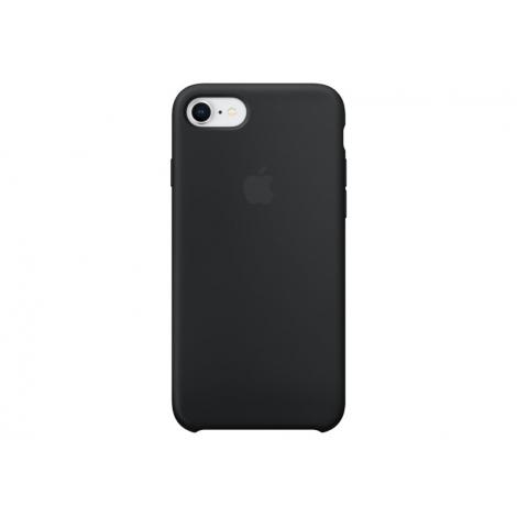 Funda iPhone 8 / 7 Apple Silicone Case Black