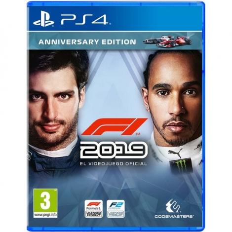 Juego PS4 Formula 1 2019 Anniversary Edition