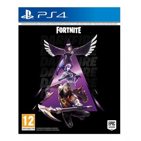 Juego PS4 Fortnite: Lote Fuego Oscuro Descarga