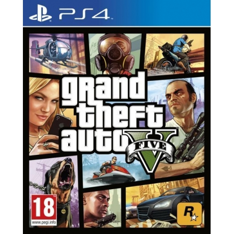 Juego PS4 Grand Theft Auto V (GTA V)