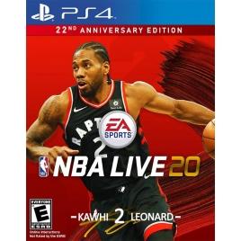 Juego PS4 NBA Live 20