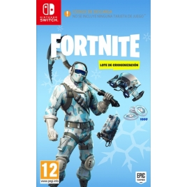 Juego Switch Fortnite: Lote Criogenizacion Desgarga