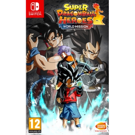 Juego Switch Super Dragonball Heroes World Mission Hero Edition