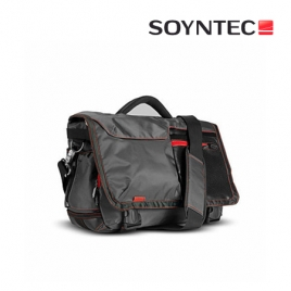 """Maletin Portatil Soyntec Traveller 250 Gray red Bandolera 15.6"""""""