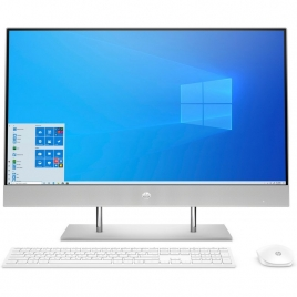 "Ordenador ALL IN ONE HP 27-DP0013NS Ryzen 3 4300U 8GB 512GB SSD 27"" FHD W10 White"
