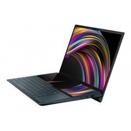 """Portatil Asus Zenbook DUO UX481FL-BM044T CI7 10510U 16GB 512GB SSD MX250 2GB 14"""" FHD W10 Blue"""