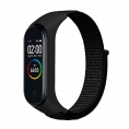 Correa Cool para Xiaomi mi Band 3 / mi Band 4 Loop Nylon Black