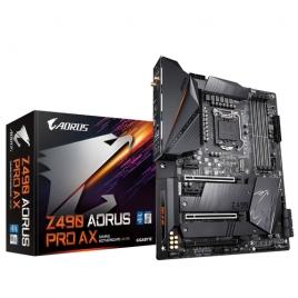 Placa Base Gigabyte Intel Z490 Aorus PRO AX Socket 1200 ATX Grafica DDR4 M.2 Glan USB 3.2 USB-C WIFI