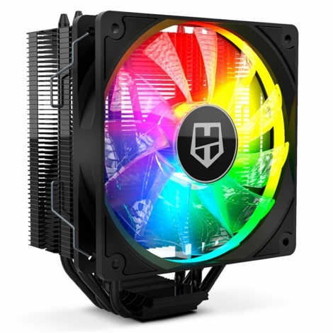 Ventilador CPU NOX Hummer 224 Argb Socket 2011/1150/1155/1156/1200/AM4