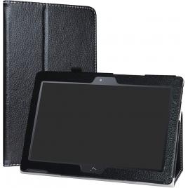 Funda Tablet Soporte PU Leather Black para Bq M10