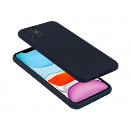 Funda Movil Back Cover Celly Earth Black para iPhone 11