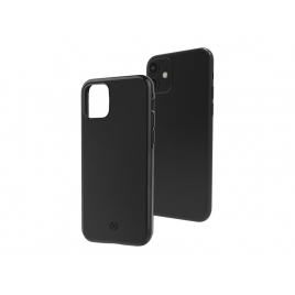 Funda Movil Back Cover Celly Ghost Skin Black para iPhone 11