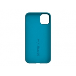 Funda Movil Back Cover Celly Leaf Blue para iPhone 11