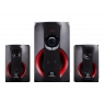 Altavoces Bluetooth Hiditec H400 2.1 40W USB SD Black/Red