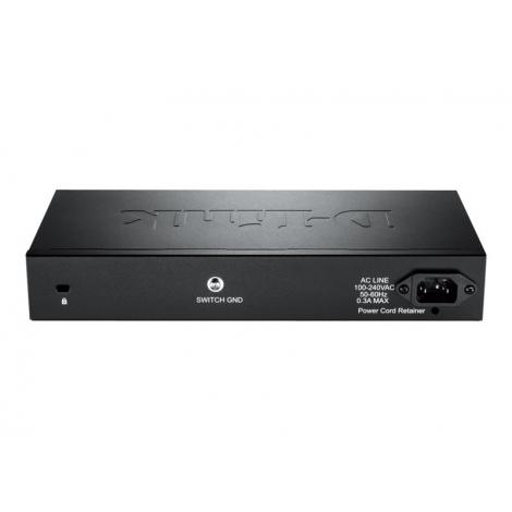 Switch D-LINK DGS-1210-10 10/100/1000 8 Puertos + 2 SFP Gigabit