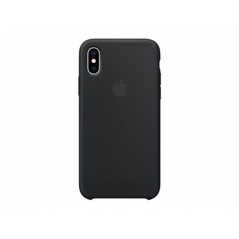 Funda iPhone XS Apple Silicone Black
