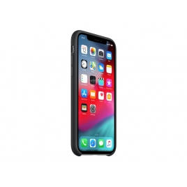 Funda iPhone XS Apple Silicone Black
