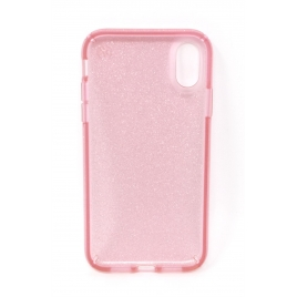 Funda Movil Back Cover Speck Presidio Glitter Rose iPhone XR