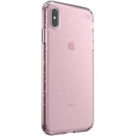 Funda Movil Back Cover Speck Presidio Glitter Rose iPhone XS MAX