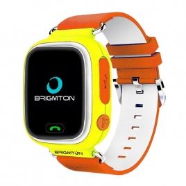 Smartwatch Brigmton BWATCH-KIDS SIM GPS 1,22'' Orange