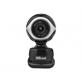 Webcam Trust Exis 0.3 Mpixel Black/Silver